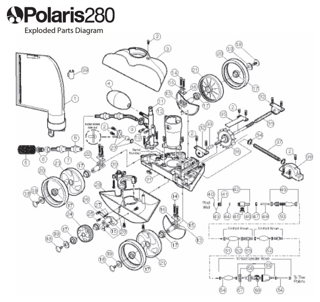 Polaris 280 Pool Cleaner Pool Supply 4 Less
