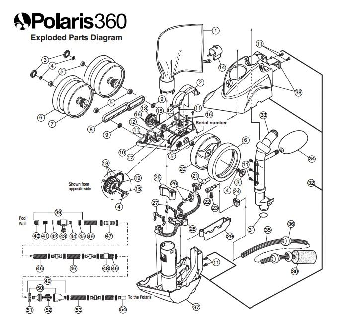 polaris 360 pool cleaner manual